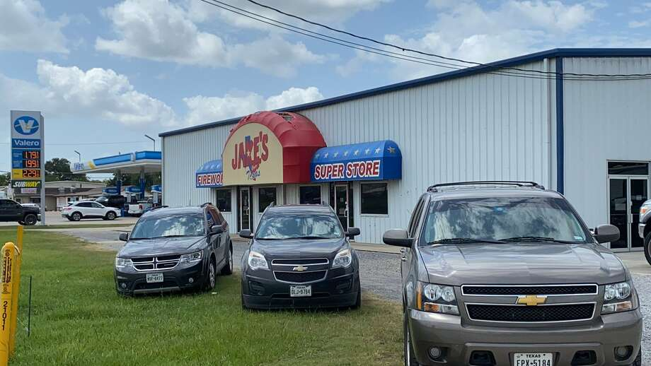 Agents conduct an investigation at Jake's fireworks in Nederland 7/15/20 Photo: The Enterprise