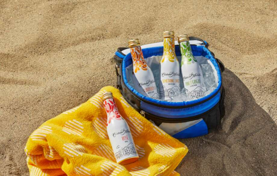 Chateau Ste. Michelle recently released their aluminum wine bottles for on-the-go sipping. Photo: Courtesy Chateau Ste. Michelle