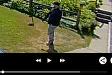 Images taken from a Ring video system depict the suspect of a burglary that took place on July 6, 2020 in Ingersoll Township. (Photo provided/Midland County Sheriff's Office)