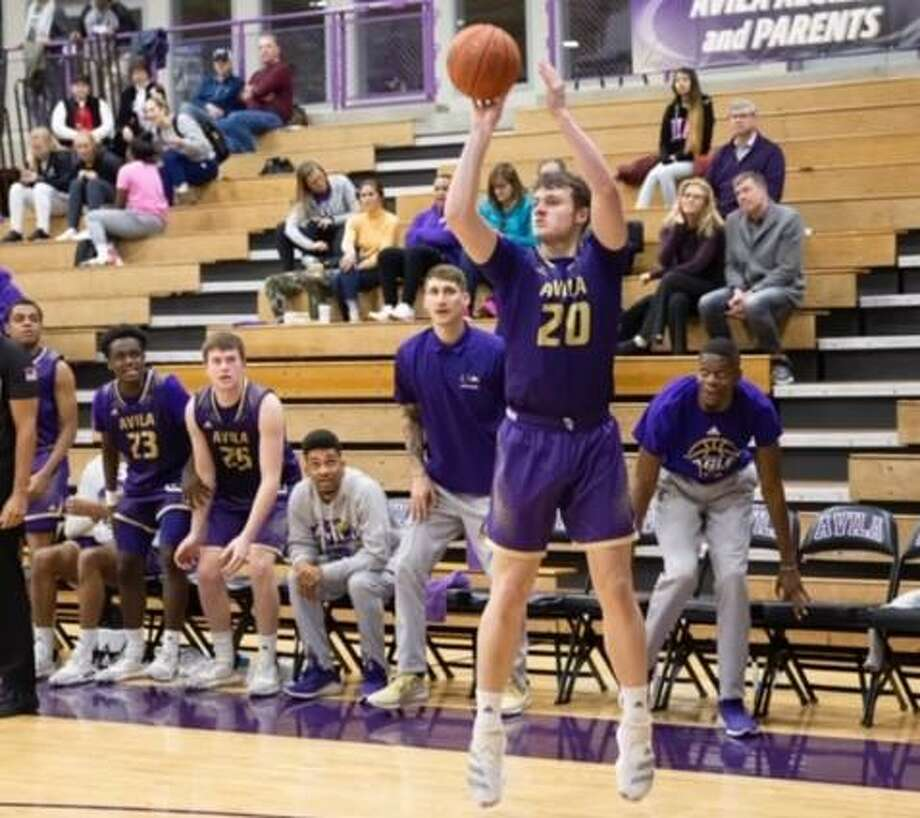 Jadon Pyle, a resident of Porter, was selected the Male Freshman Athlete of the Year at Avila University, an NAIA program in Kansas City. Photo: Submitted Photo
