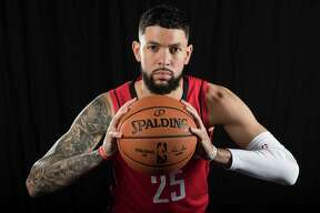 Austin Rivers says it can rough being in the NBA' bubble just a few miles from his home in Orlando but he thinks it can be worth it because Rockets are one of three or four teams that can win it all.