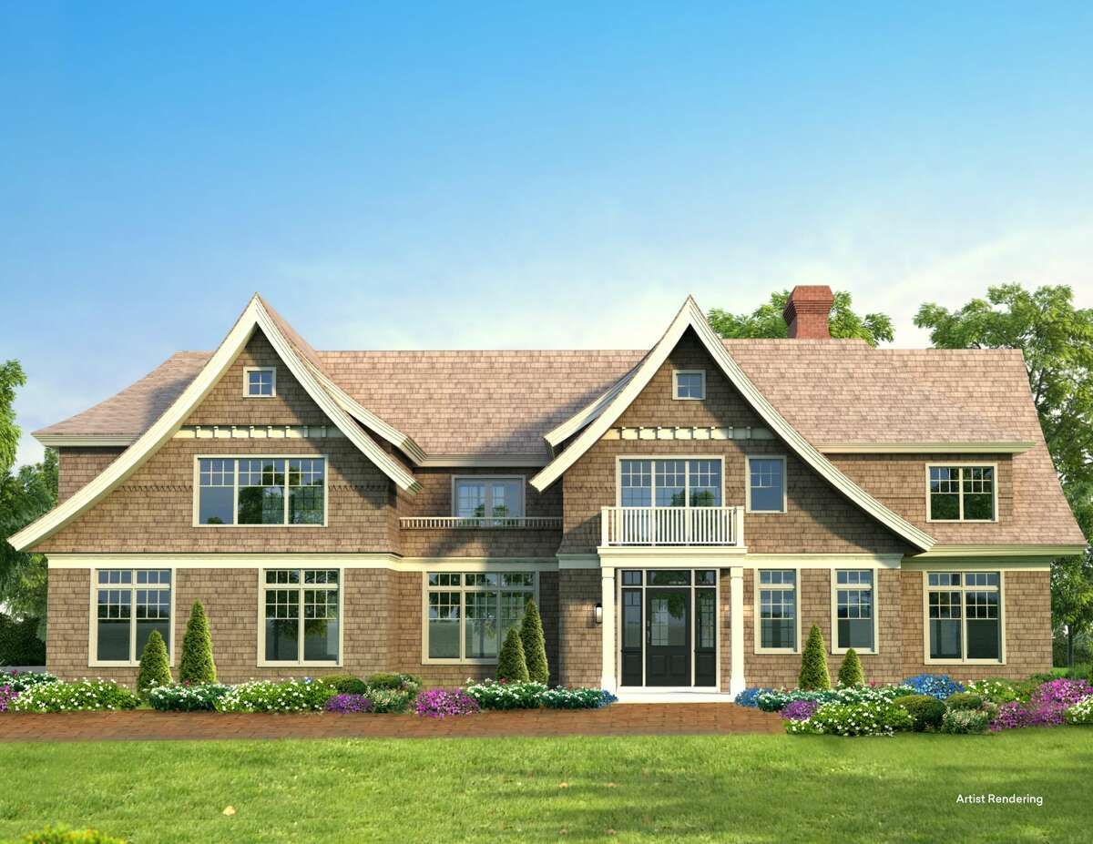 An example of the type of house to be built in the Oak Ridge subdivision in Saratoga Springs. Model homes will open spring 2021.