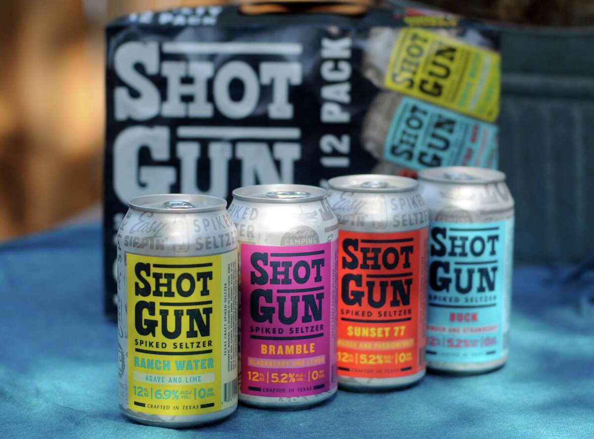 Shotgun Spiked Seltzer is available in 12-packs of mixed flavors at San Antonio-area H-E-B stores.