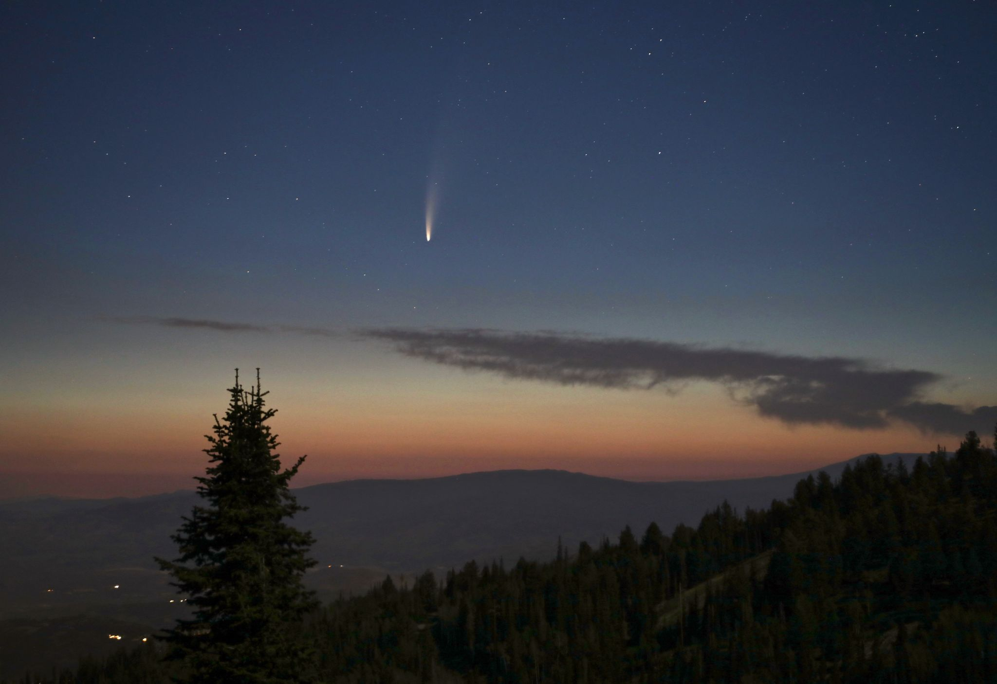 How to see a comet that won't return to Earth for another 6,800 years