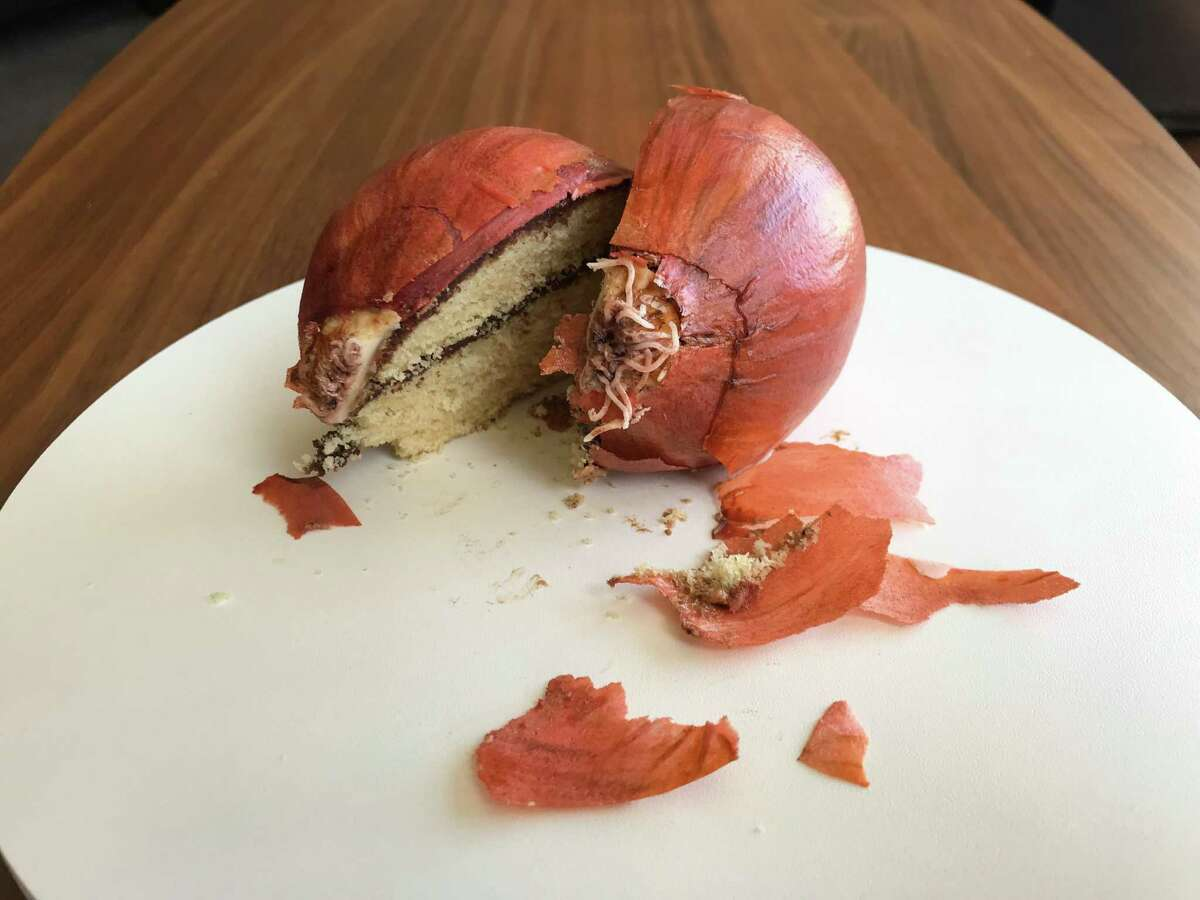 Is it an onion? Nope, it's a cake. Natalie Sideserf of Sideserf Cake Studio has been making realistic cakes since 2012.