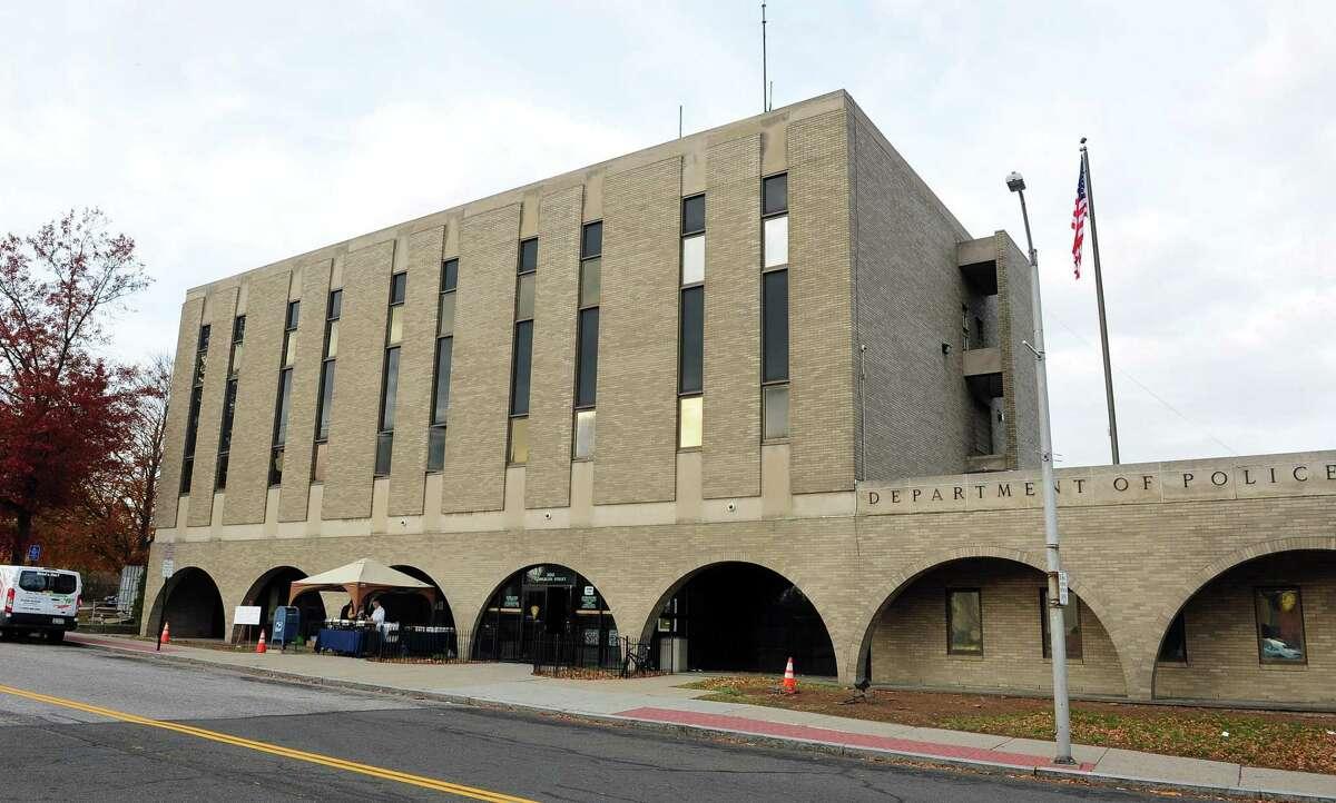 The Bridgeport police department's headquarters on Congress Street.