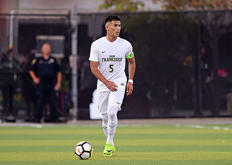 Manny Padilla played for the USF men's soccer team from 2014-17. Photo: USF