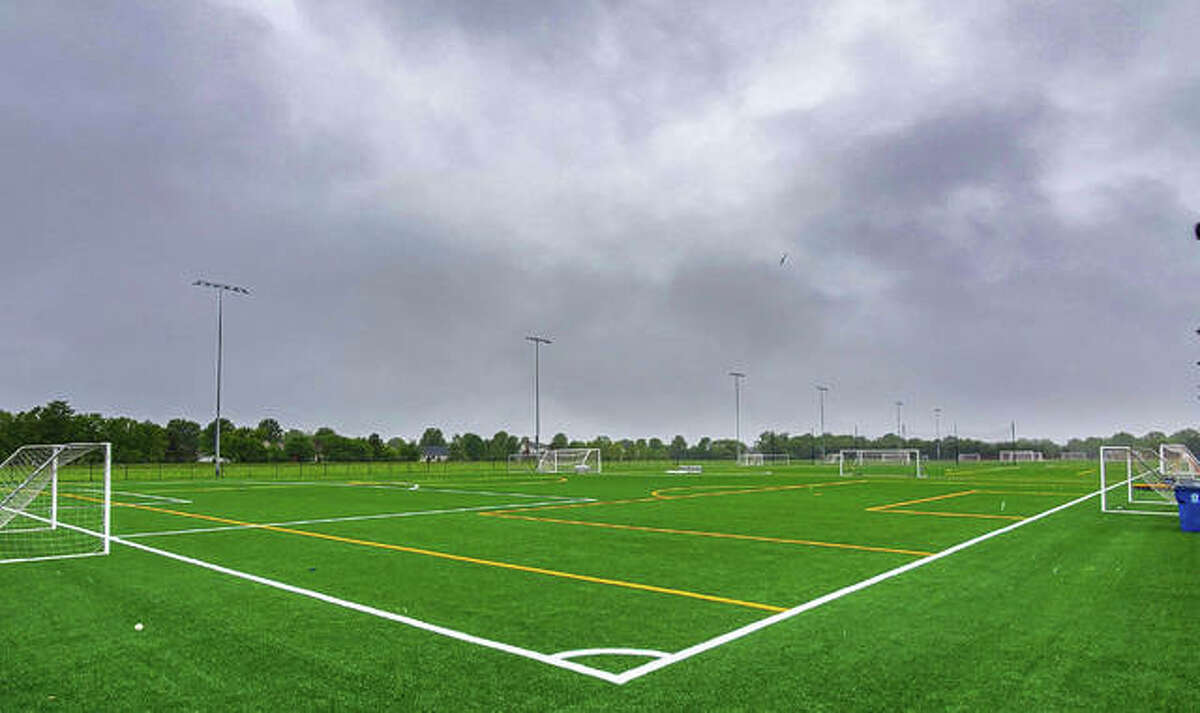 Perimiter fencing around the Plummer Family Sports Park soccer fields has put the committee in a bind.