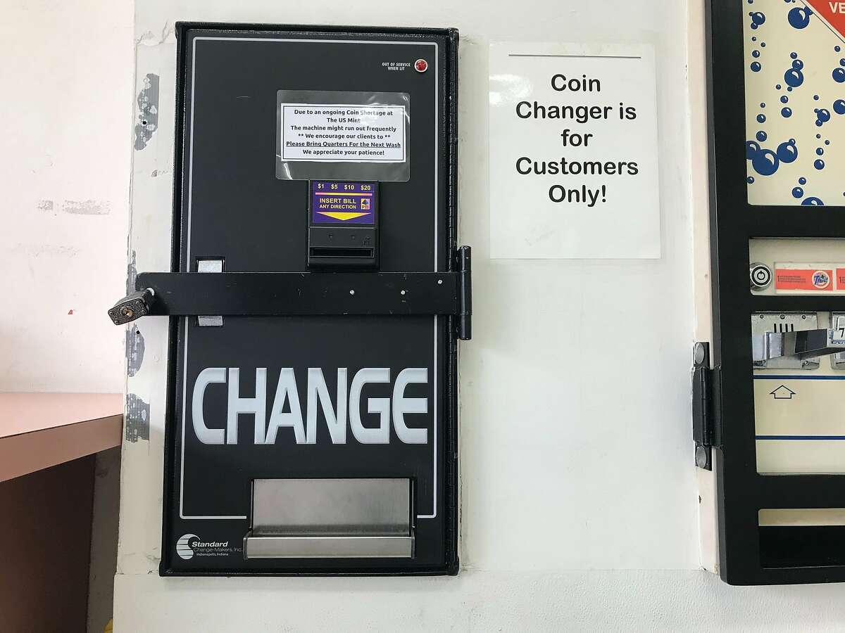 Laundromats across the Bay Area are struggling to maintain their quarter supply as the nationwide coin shortage reaches a head. 1010 Wash & Dry, a laundromat in the Richmond District of San Francisco, is encouraging its customers to bring their own quarters.