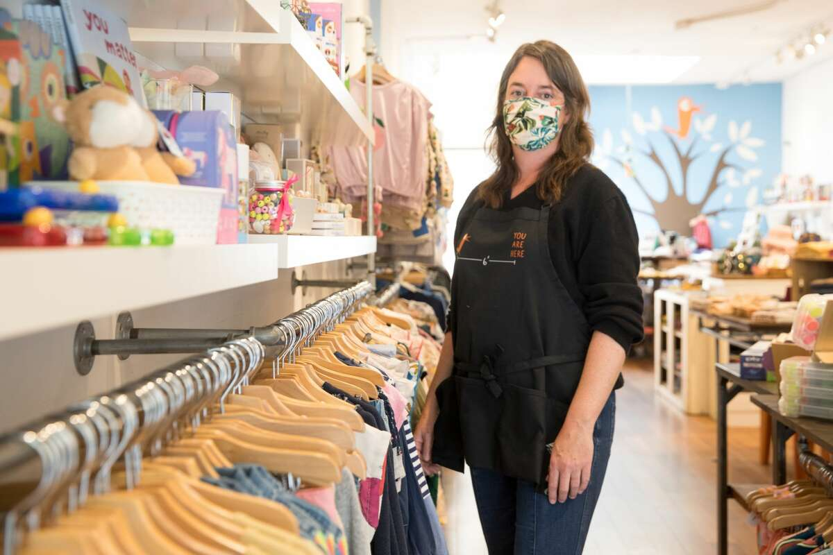 Fiddlesticks owner Elizabeth Leu owns a children's boutique. It is one of the businesses that received a PPP loan in the Hayes Valley neighborhood.