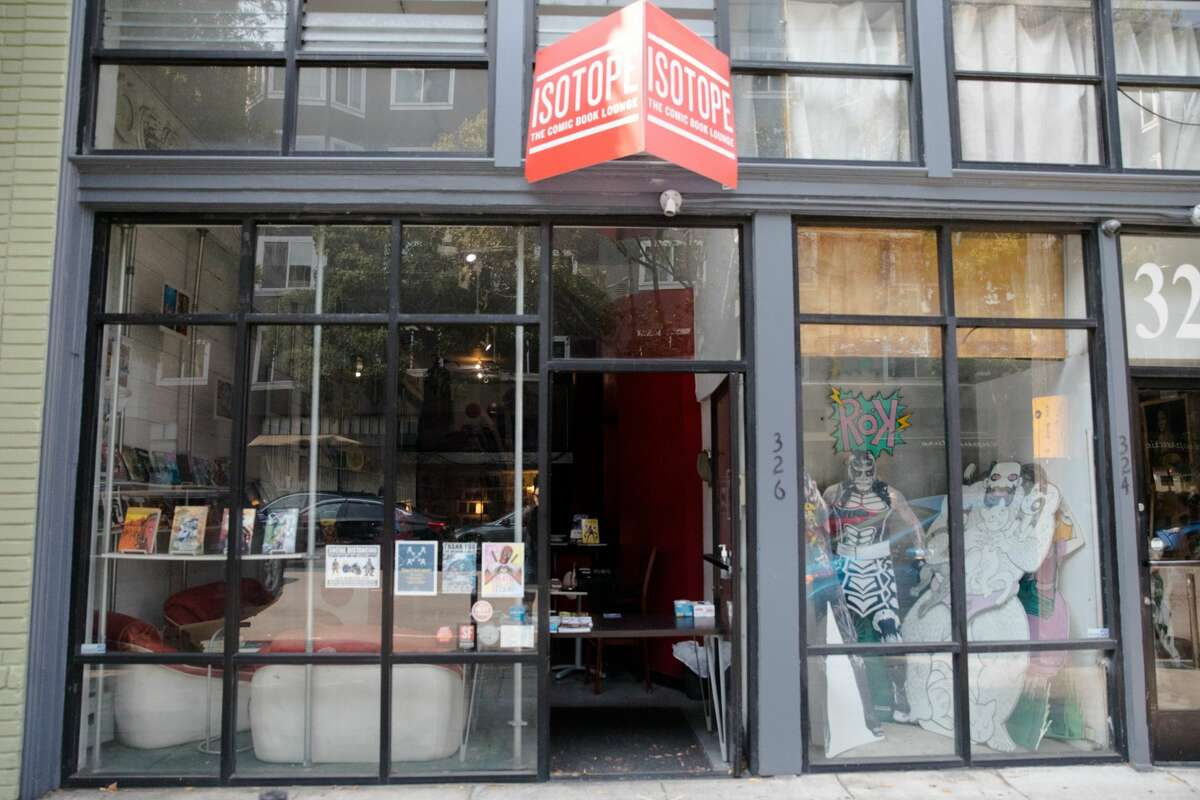 Isotope Comics in Hayes Valley decided not to get a PPP loan.