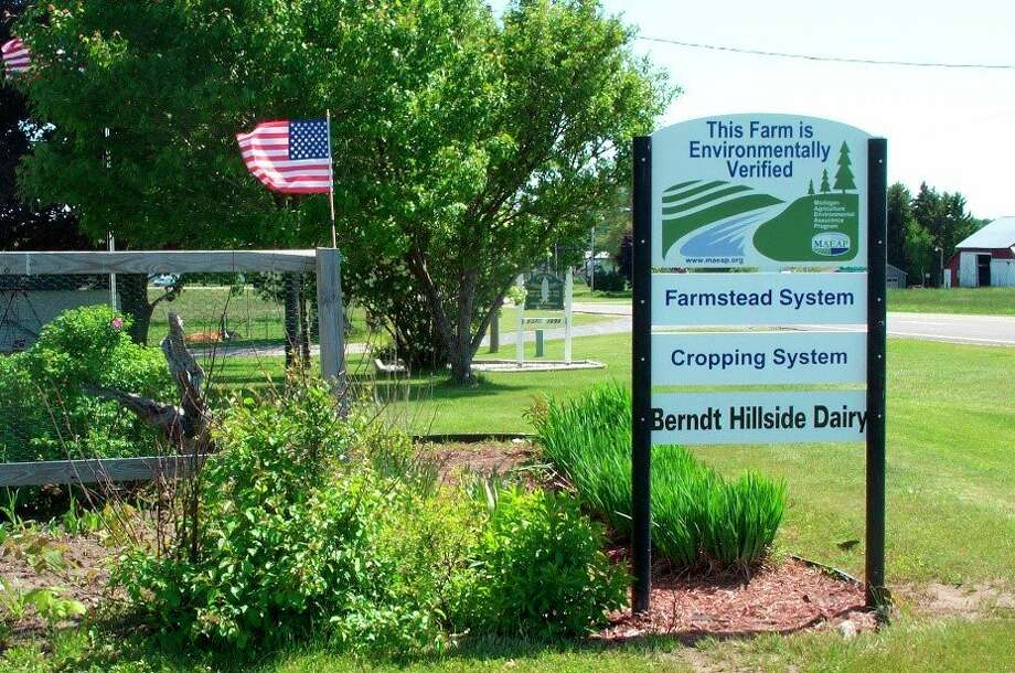 The Michigan Agriculture Environmental Assurance Program offers assistance to farmers in becoming verified in pollution control. Farms verified by the MAEAP will receive a sign indicating that they are environmental stewards. (Submitted photo)