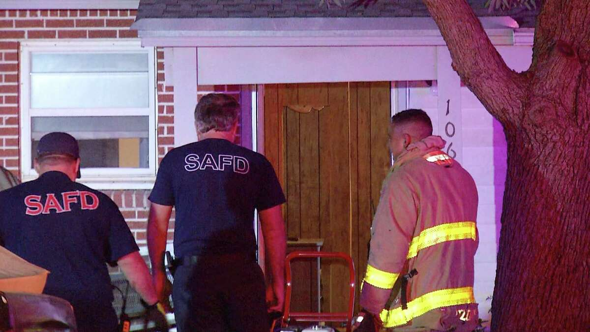 A house fire broke out on the Northeast Side after a woman's Whataburger cup caught fire Thursday July 16, 2020.