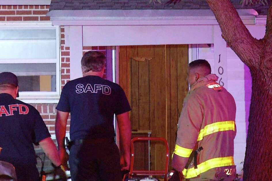 A house fire broke out on the Northeast Side after a woman's Whataburger cup caught fire Thursday morning.