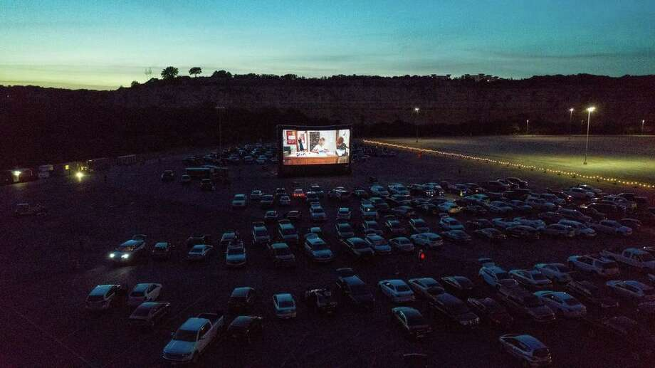 Gates open at 7 p.m. for the first showing, which starts at 8:30 p.m. The second showing starts around 11 p.m. Photo: Rooftop Cinema Club