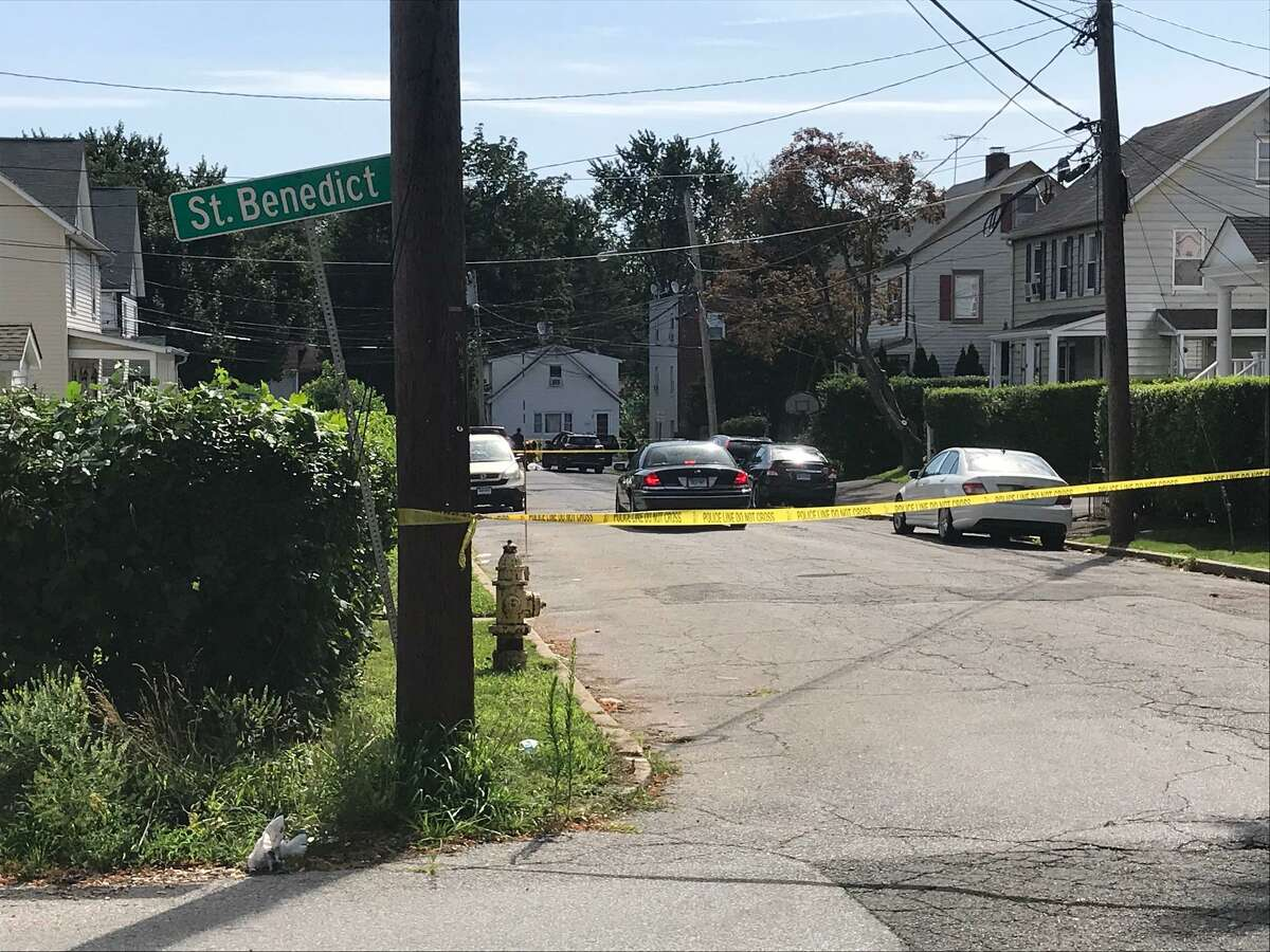 Police are investigating the deaths of two people found in a car parked near the corner of Dale Street and St. Benedict's Circle on Stamford's East Side Thursday morning.