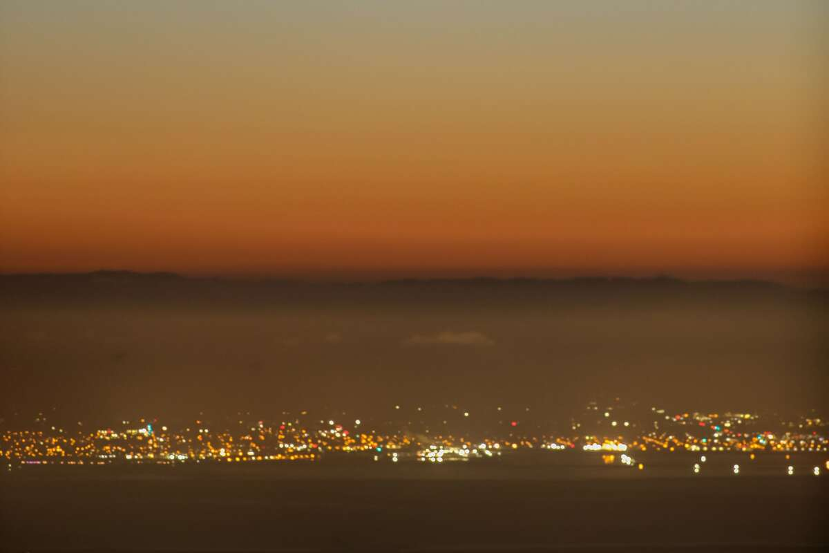 Photo taken of the Bay Area on July 14, 2020.