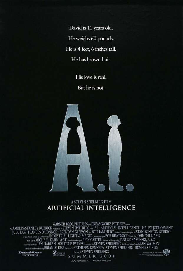 "Danny Minton thinks ""A.I. Artificial Intelligence"" is one of Spielberg's most under-appreciated films. Photo: Courtesy Photo"