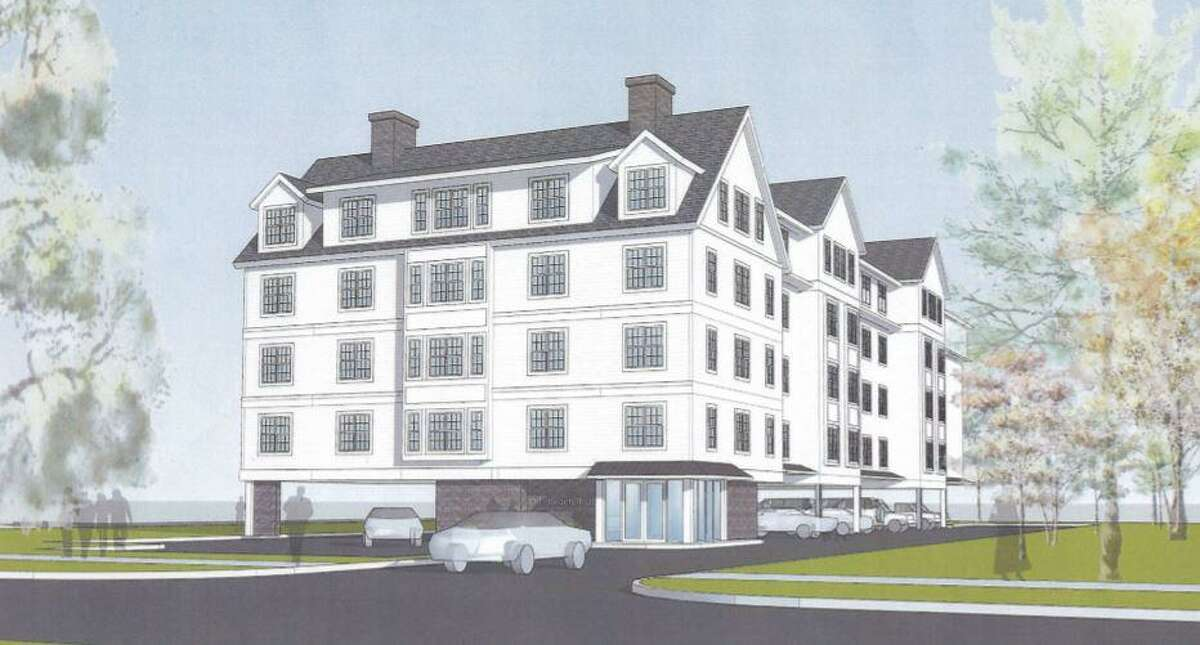 The Old Post Road Area Association and other neighbors around 131 Beach Road are unhappy with a proposal to build a 40 unit apartment building on the site.
