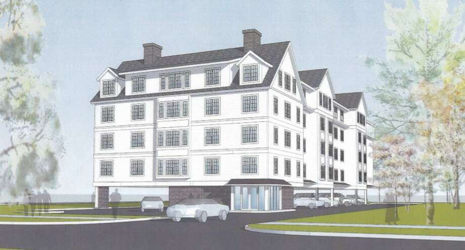 The Old Post Road Area Association and other neighbors around 131 Beach Road are unhappy with a proposal to build a 40 unit apartment building on the site. Photo: LaBella, Joshua /