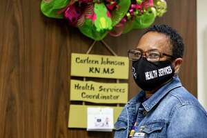 "Registered Nurse Carleen Johnson, Health Services Coordinator for Alief Independent School District, said, ""We'll be doing 150 percent more just trying to keep everybody safe."""
