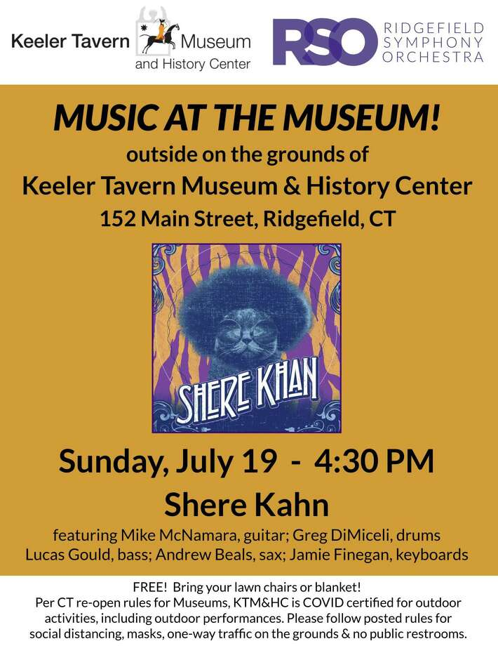 Keeler Tavern Museum & History Center (KTM&C) and Ridgefield Symphony Orchestra (RSO) present Music at the Museum, a free outdoor summer concert series starting Sunday, July 19, at 4:30 p.m. Photo: Contributed Photo