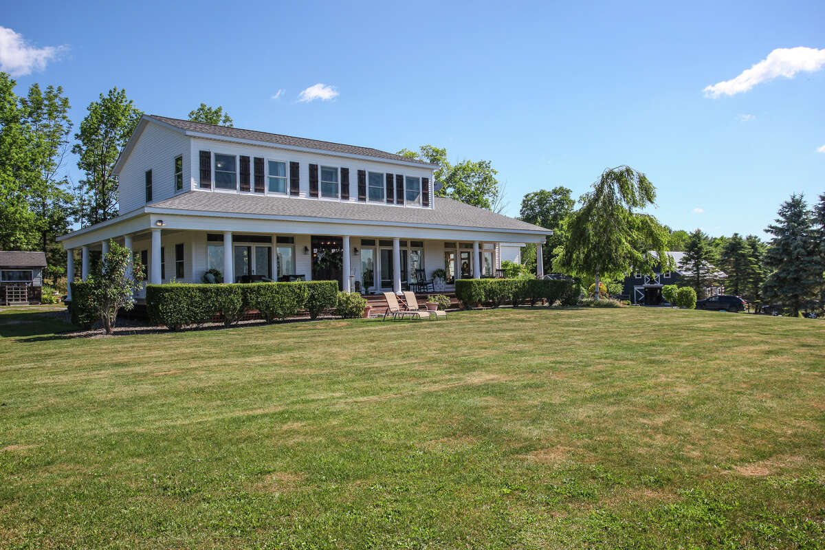 Built in 2006, the house at 261 Edwards Hill Road, Renssalaerville is on 12.9 acres and has three bedrooms, three bathrooms and a horse barn. https://realestate.timesunion.com/listings/261-Edwards-Hill-Rd-Rensselaerville-NY-12460-MLS-202021151/41385634