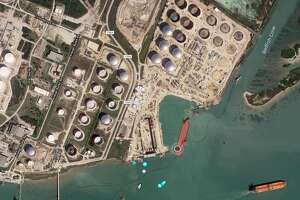 Houston pipeline operator Buckeye Partners has started operations at the the company's new crude oil export terminal in Ingleside.