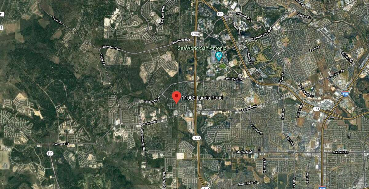 A group of of teenagers playing with a gun ended with a 16-year-old hospitalized in critical condition after he was shot in the torso, according to Bexar County Sheriff's Office said. The map shows the approximate location of the shooting.