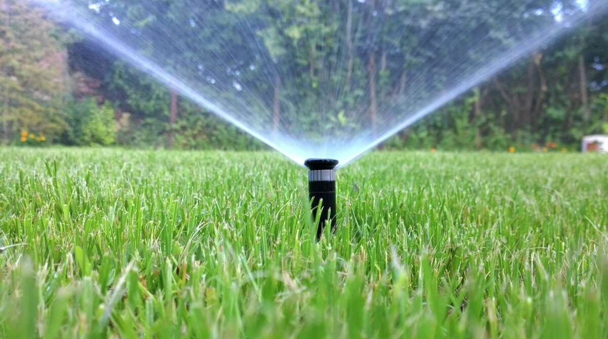 Under Stage 1 water restrictions, irrigation is only allowed once a week on a designated day.