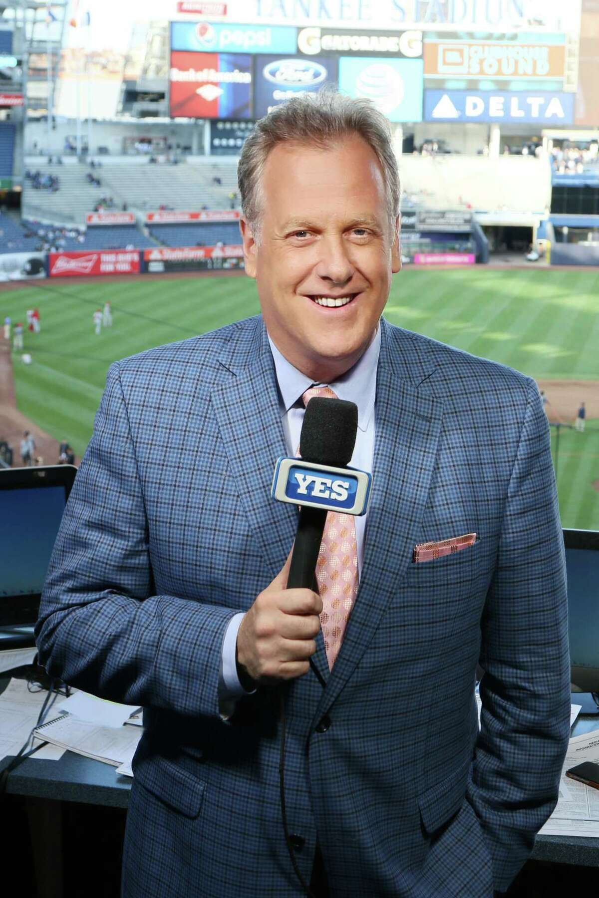 Michael Kay enters is 19th season of broadcasting New York Yankees games on the YES Network. (E.H. Wallop/YES Network)