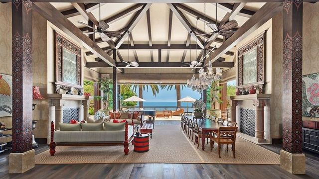 $65M Balinese-Inspired Beach House in Malibu Is Most Expensive New Listing