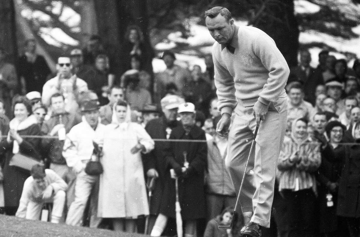 Arnold Palmer at the Lucky Invitational golf Tournament at Harding Park , January 1964