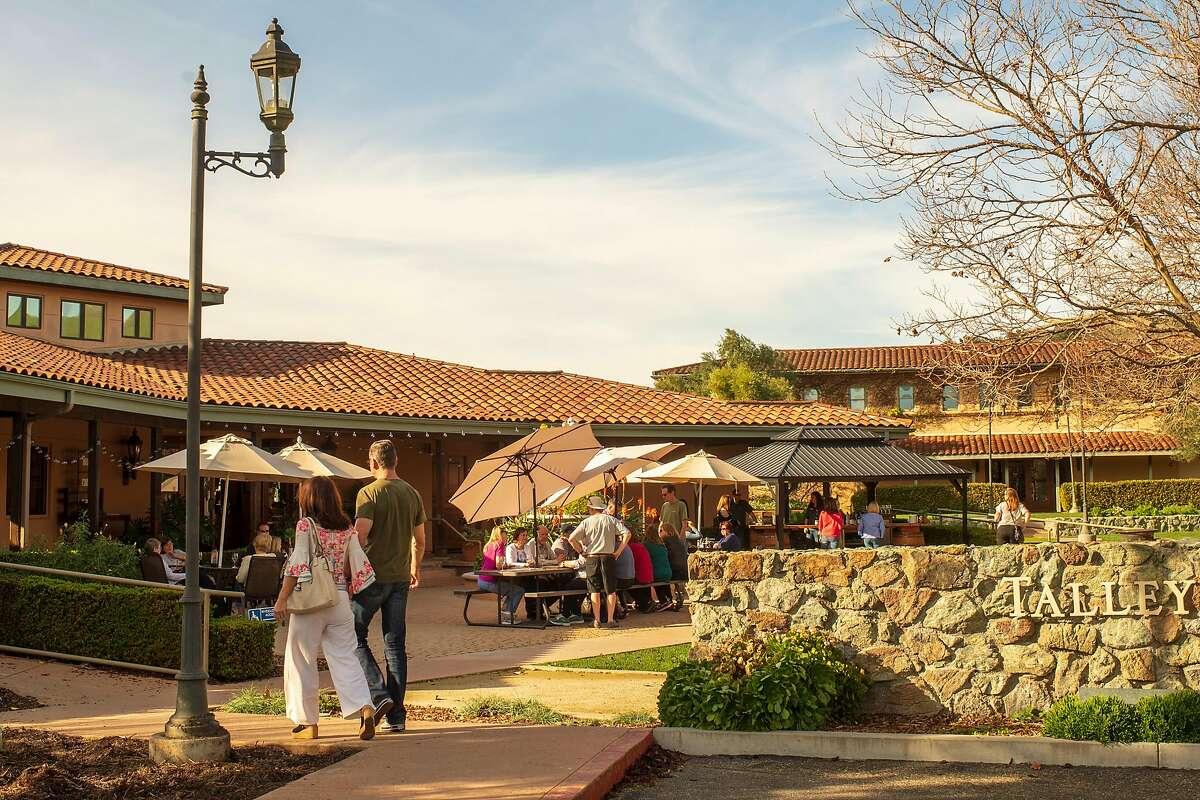 Talley Vineyards tasting room in Arroyo Grande, Calif.
