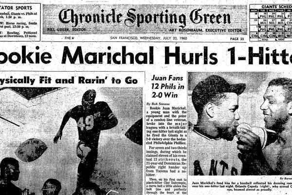 July 19, 1960: Giants' Juan Marichal debuts with 1-hitter vs ...