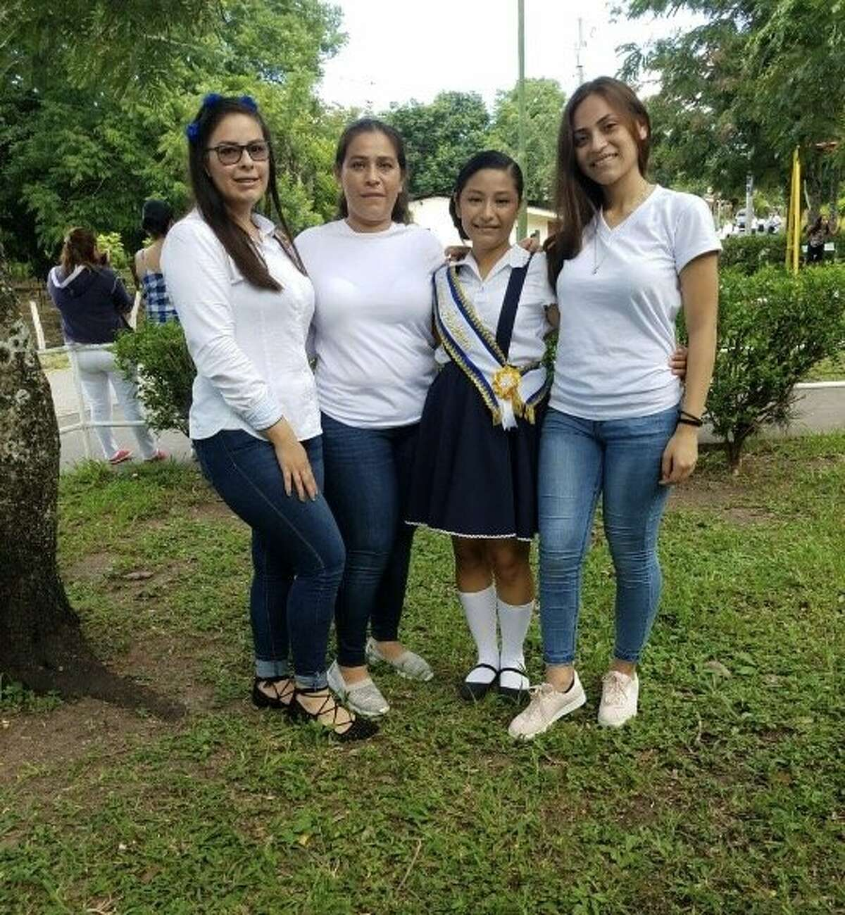 Martha Otero, left, and her three daughters