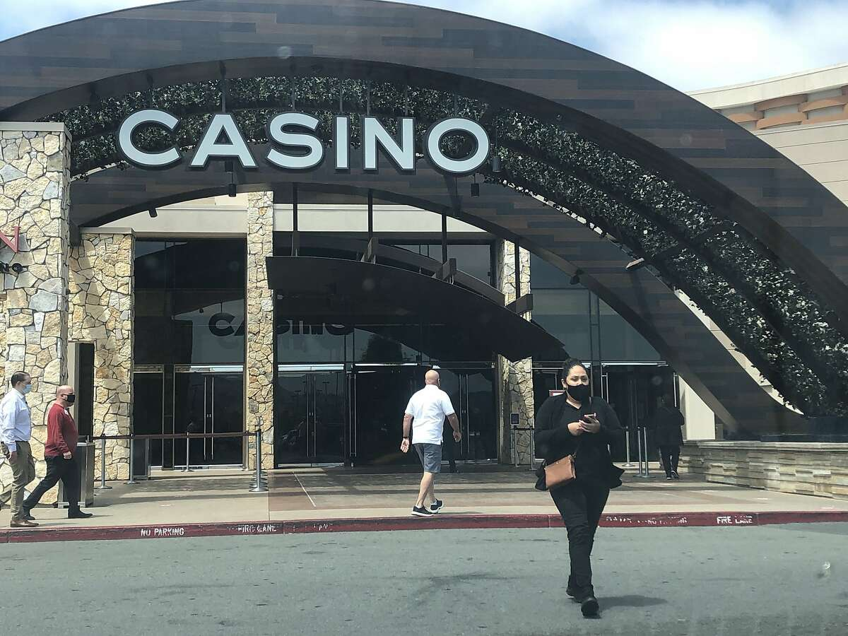 Graton casino is open with masks required seen on Thursday, July 16, 2020.