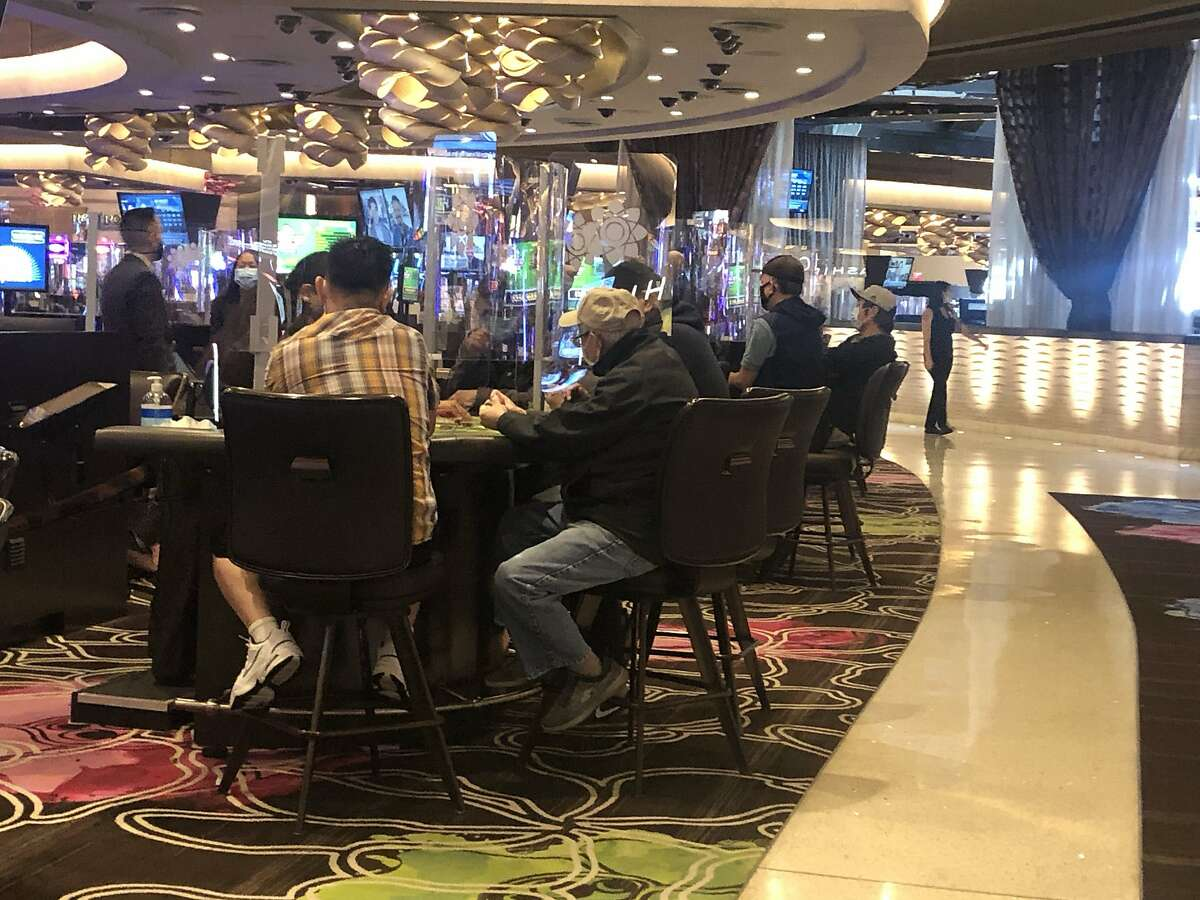A statewide ballot initiative would permit sports betting at tribal casinos such as Graton Resort and Casino in Rohnert Park. Cardrooms are fighting back.