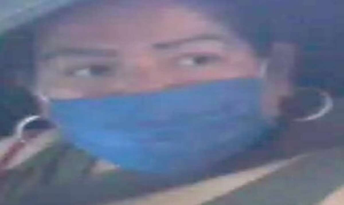 Laredo police said they are looking for this woman in connection with a vehicle theft.