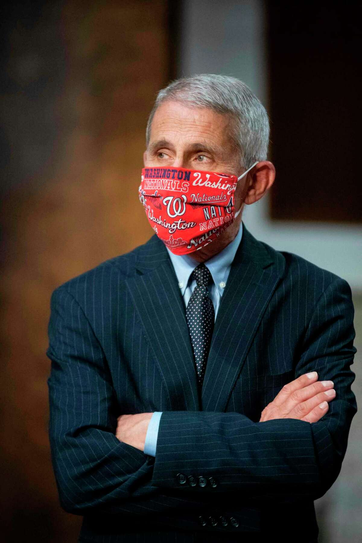 Dr. Anthony Fauci, director of the National Institute of Allergy and Infectious Diseases, arrives to testify at a Senate Health, Education, Labor and Pensions Committee hearing in Washington, D.C. on June 30, 2020.