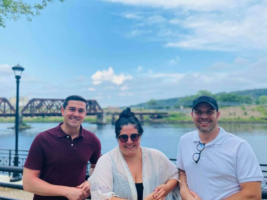 Celebrate Shelton founders Jimmy Tickey, left, Nicole Mikula and Michael Skrtic. Photo: Contributed Photo / Connecticut Post