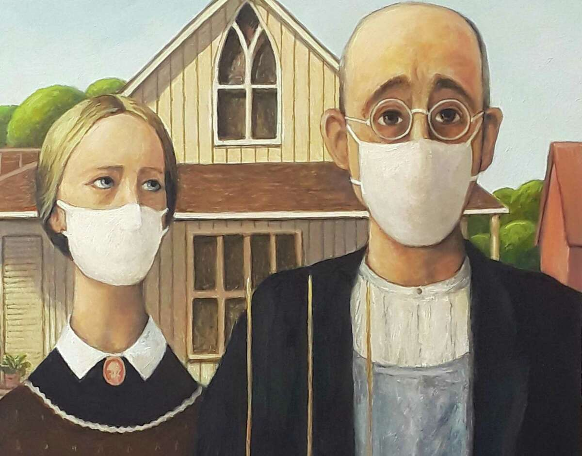 """""""American Situation"""" by Peter Pettegrew is among the work that artist have contributed to the Great American Paint In, a national project collecting artwork created during the coronavirus pandemic."""