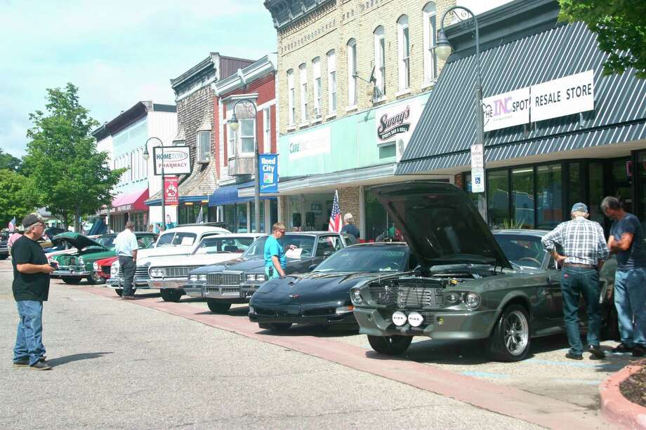 There will be no downtown Reed City car show this year. The Great American Crossroads Celebration scheduled to run from Aug. 13 through 16, has been cancelled due to rising cases of COVID-19 throughout the state. (Pioneer file photo)