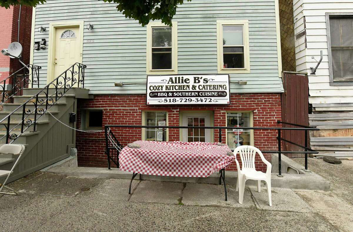 Exterior of Allie B's Cozy Kitchen on Friday, July 17, 2020 in Albany, N.Y. (Lori Van Buren/Times Union7