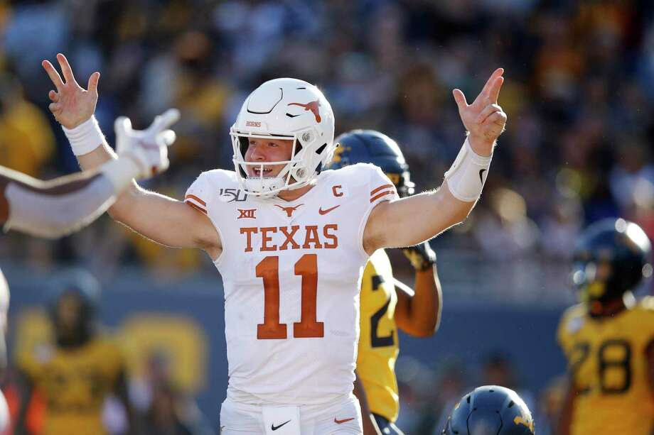 Texas senior quarterback Sam Ehlinger is on the Davey O'Brien Award watch list for the nation's top QB, but he has stiff competition in Clemson's Trevor Lawrence and Ohio State's Justin Fields. Photo: Joe Robbins / Getty Images / 2019 Getty Images