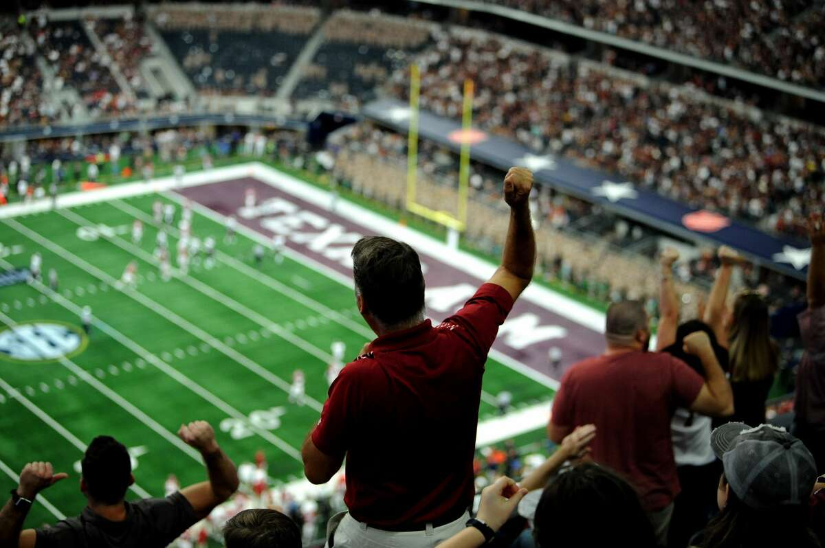 Texas A&M and Arkansas have played nine of their past 11 football games against each other at AT&T Stadium in Arlington and the schools are under contract to play there through 2024.