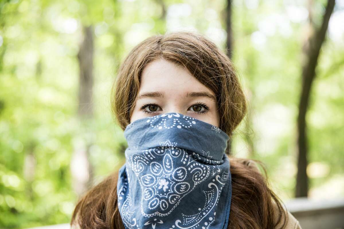 A bandana is the least effective face mask you can wear to protect others, according to a recent study.