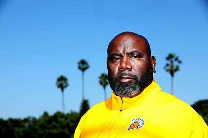 San Jose State football coach Alonzo Carter.