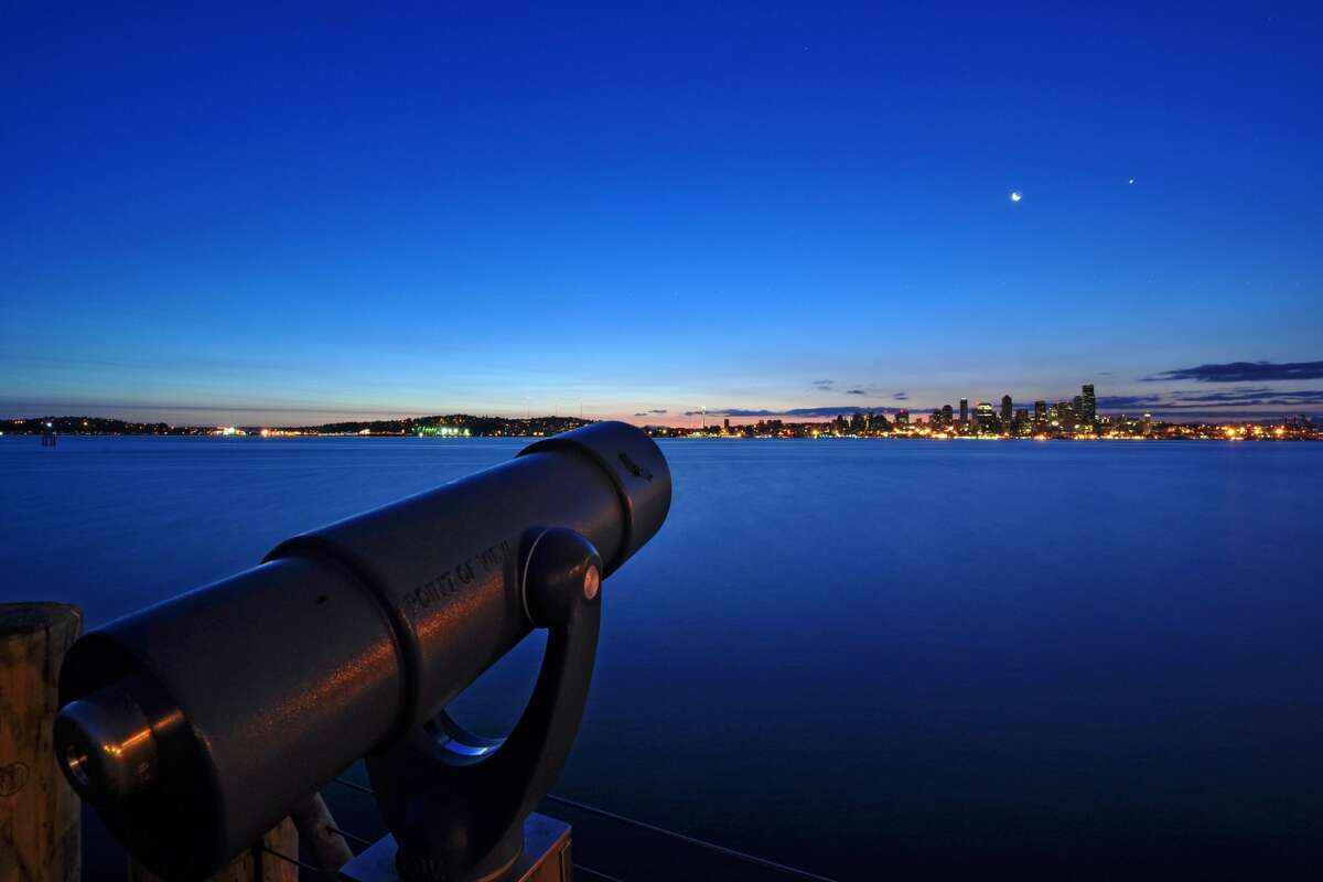 Closer to the city than other options, many stargazers head to Alki Beach in West Seattle to be able to look north over the calm, dark waters over Elliott Bay with minimal light pollution from the city to the east. The beach is popular in the summer months, so be sure to social distance properly. If you're still a beginner and don't know what to look for, make sure to download astronomy apps like Star Walk or Star Chart to help navigate the night sky.