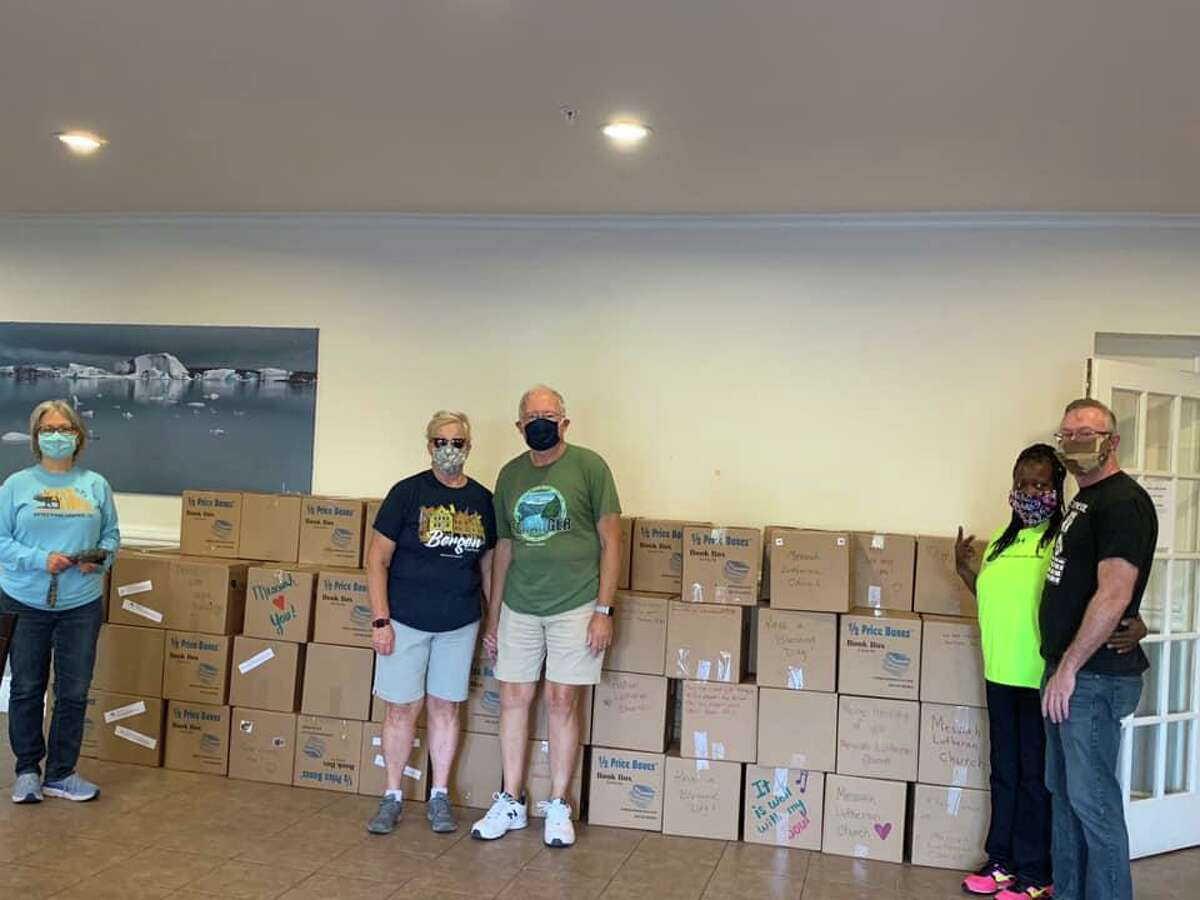 Messiah Lutheran Church in Cypress, along with hosting their blood drive on Aug. 9, has provided food for the community during the COVID-19 pandemic